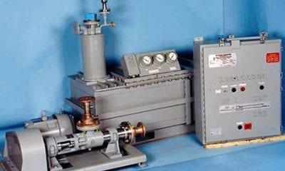 Simplex-configured Oil Water Separators